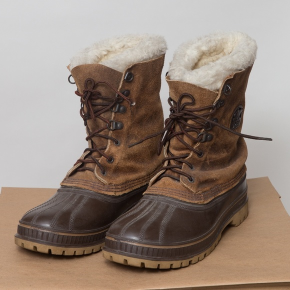 Vintage Sorel Made In Usa Snow Boots